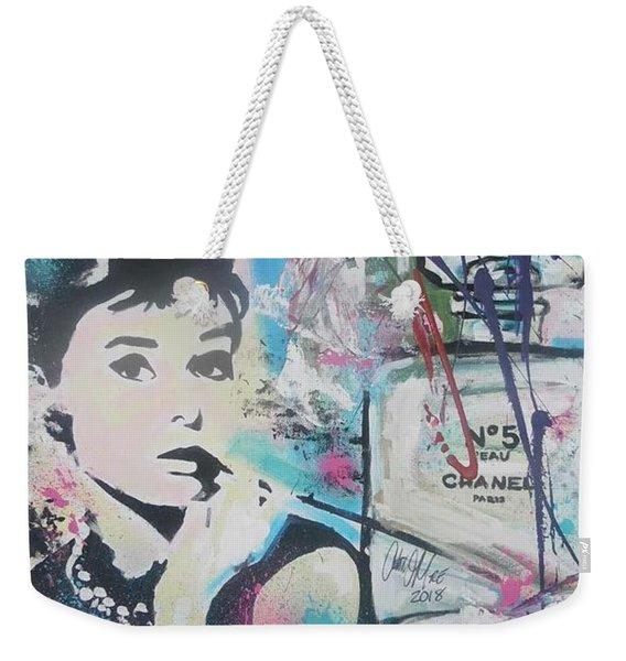 Audrey Chanel Weekender Tote Bag