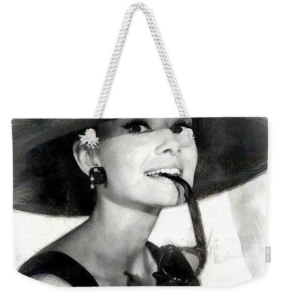 Audrey Hepburn 2 Weekender Tote Bag