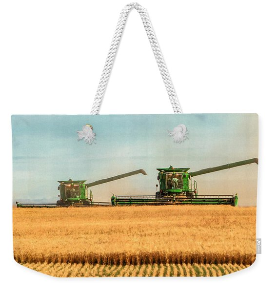 Augers Out Weekender Tote Bag