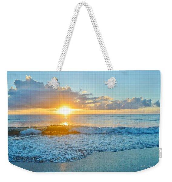 August 12 Nags Head, Nc Weekender Tote Bag