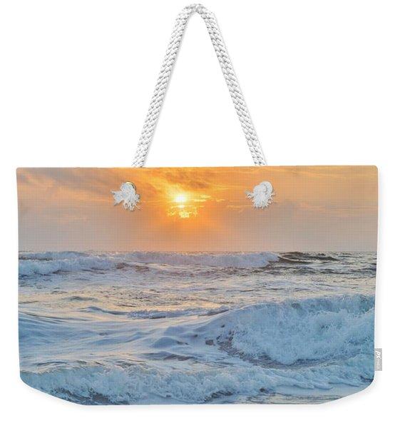 August 28 Sunrise Weekender Tote Bag