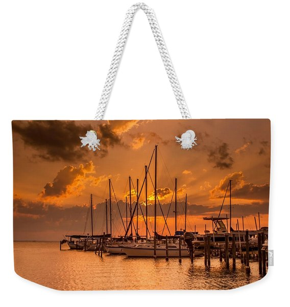 August Sunset Weekender Tote Bag