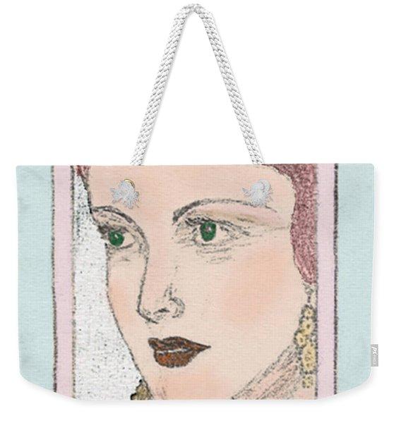 Aunt Edie Weekender Tote Bag