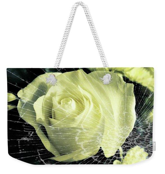 Aunt Edna's Rose Weekender Tote Bag