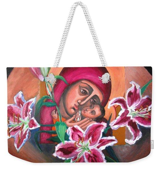 Aunt Katya's Icon Weekender Tote Bag