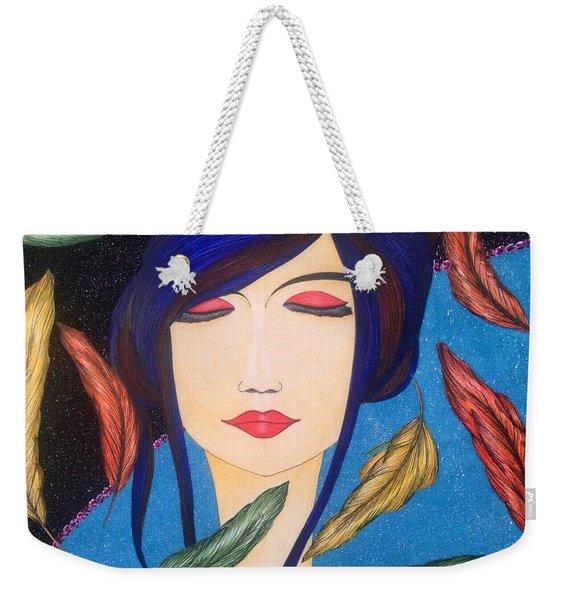 Aura Of Peace. Weekender Tote Bag