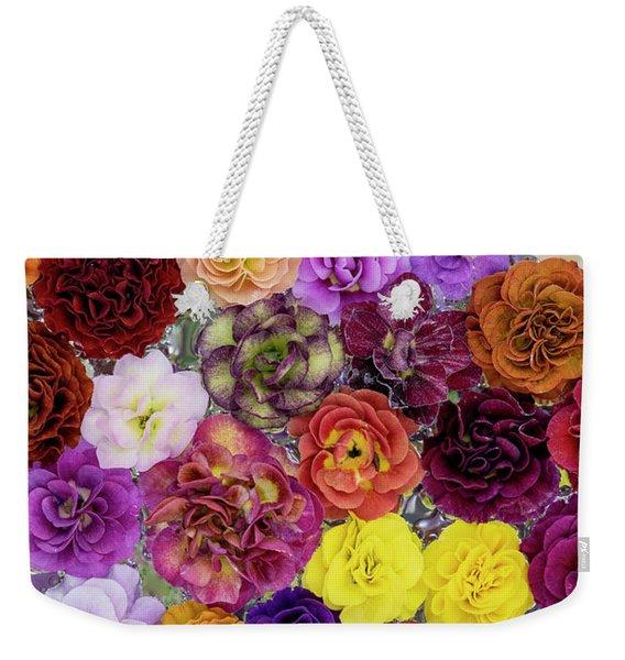 Auricula Pattern Weekender Tote Bag