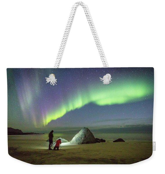 Aurora Photographers Weekender Tote Bag