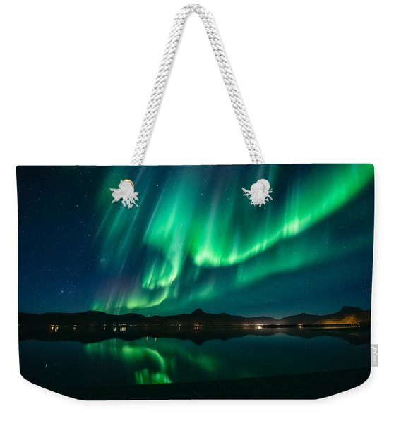 Aurora Surprise Weekender Tote Bag