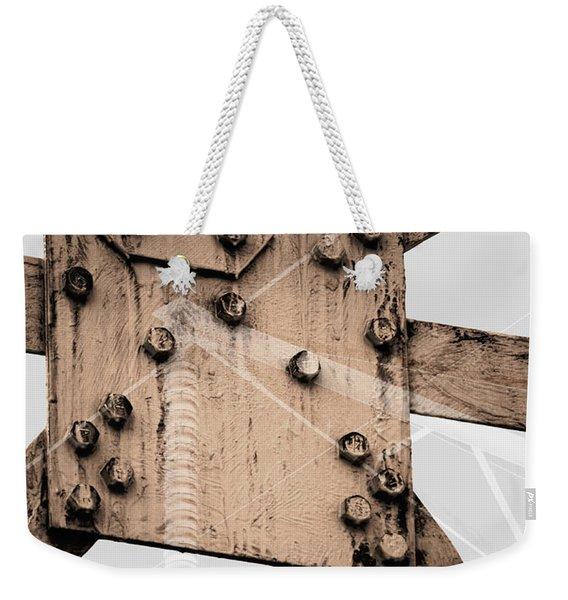 Austerity Of Form Weekender Tote Bag