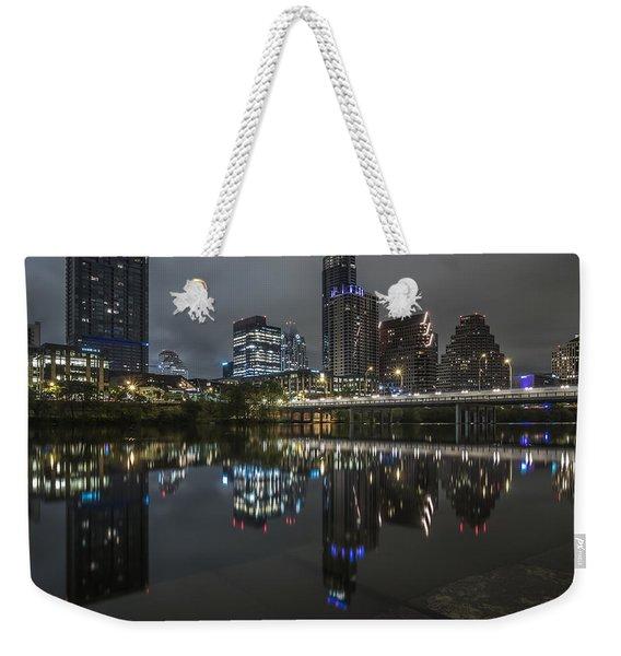 Austin As Gotham Weekender Tote Bag