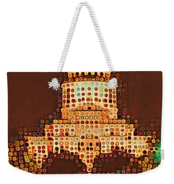 Austin Capitol At Night Weekender Tote Bag