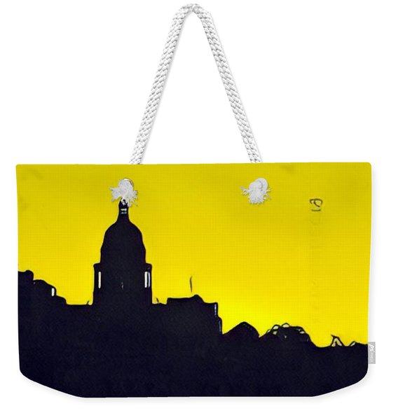 Austin Capital At Sunrise Weekender Tote Bag