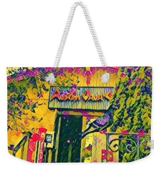 Austin Java Electric Weekender Tote Bag