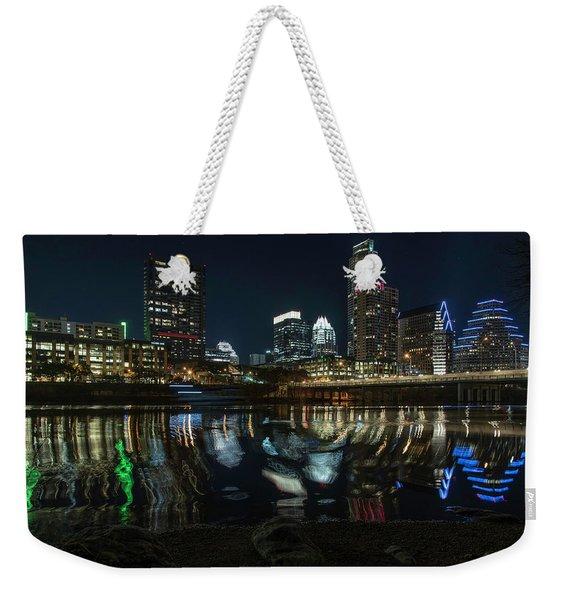 Austin Reflections Weekender Tote Bag