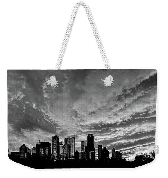 Austin Skyline Weekender Tote Bag