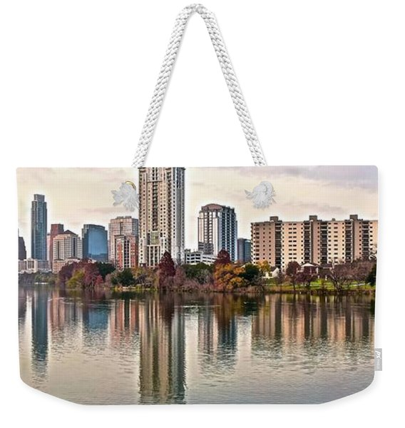 Austin Wide Shot Weekender Tote Bag