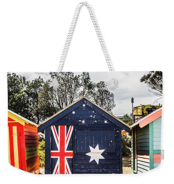 Australia Bathing Boxes Weekender Tote Bag