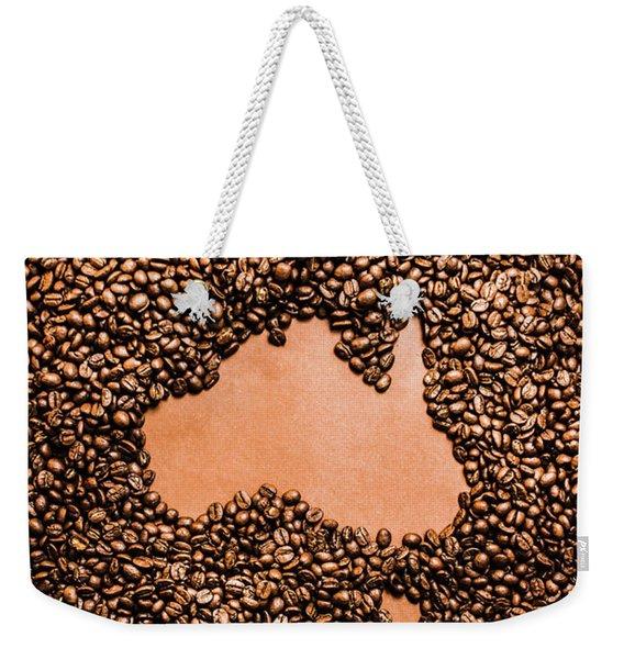 Australia Cafe Artwork Weekender Tote Bag