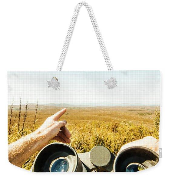 Australian Safari Weekender Tote Bag
