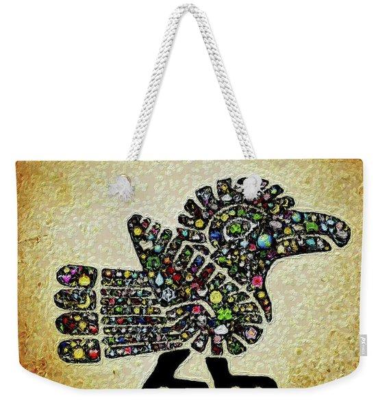 Authentic Aztec Wall Art Weekender Tote Bag