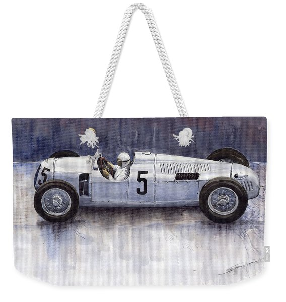 Auto Union 1936 Type C Weekender Tote Bag