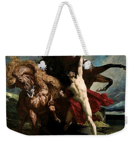 Automedon With The Horses Of Achilles Weekender Tote Bag