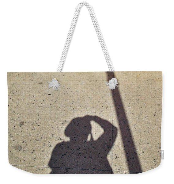 Autoportrait D'ombre Weekender Tote Bag