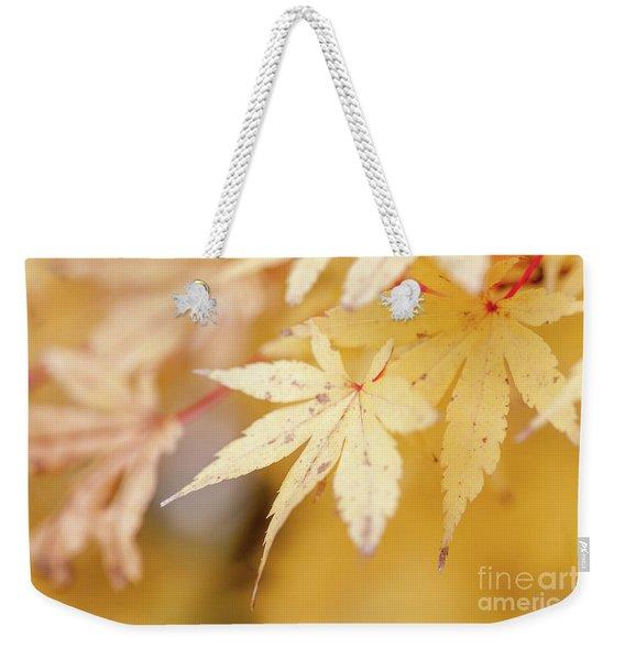 Autum Is Here Weekender Tote Bag