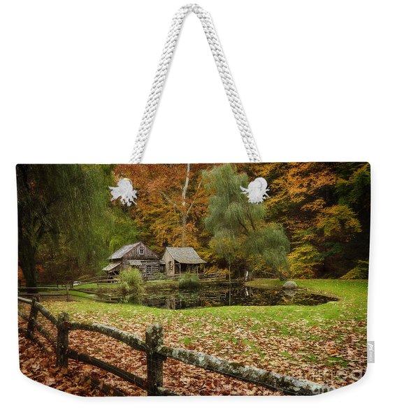 Autumn At Cuttalossa Farm V Weekender Tote Bag