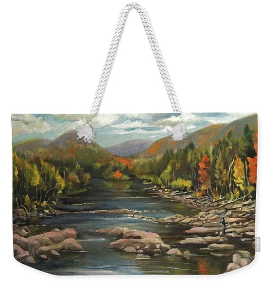 Autumn At The Pemi From Thornton New Hampshire Weekender Tote Bag