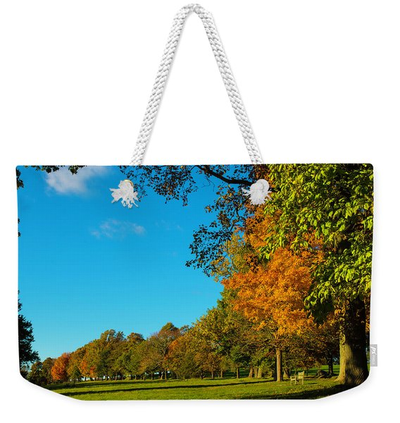Autumn At World's End Weekender Tote Bag
