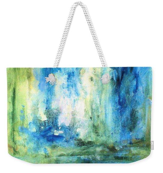 Spring Rain  Weekender Tote Bag