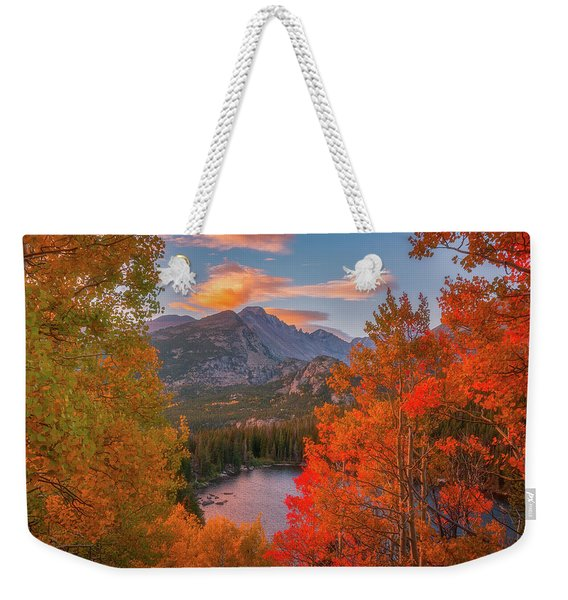 Autumn's Breath Weekender Tote Bag