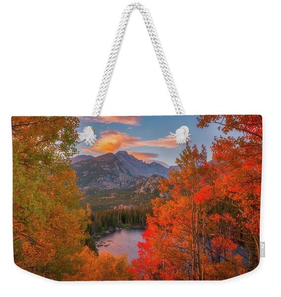 Autumn's Breath Weekender Tote Bag
