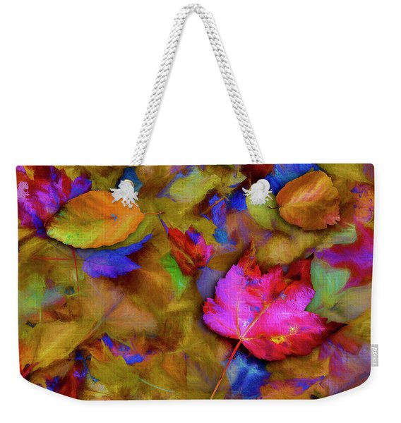 Autumn Breeze Weekender Tote Bag