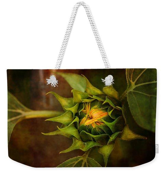 Autumn Bud Weekender Tote Bag