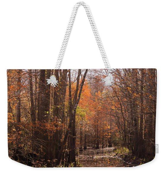 Autumn Cypress Swamp Along The Waccamaw Weekender Tote Bag