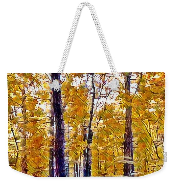 Autumn  Day In The Woods Weekender Tote Bag