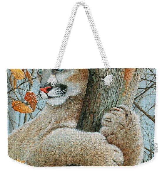 Autumn Dew Weekender Tote Bag
