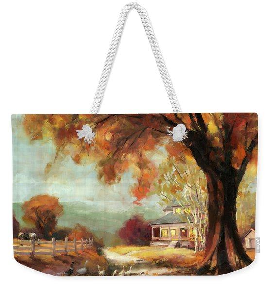 Autumn Dreams Weekender Tote Bag