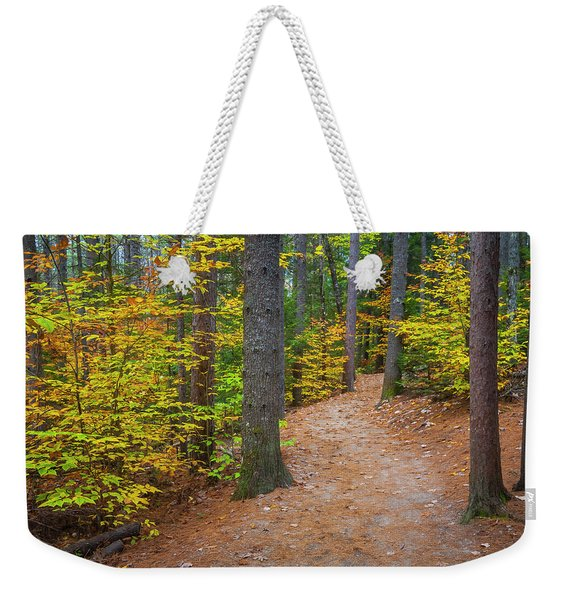 Autumn Fall Foliage In New England Weekender Tote Bag