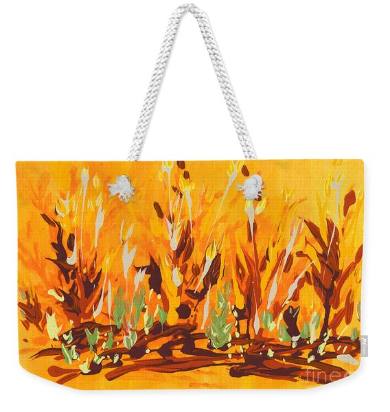 Autumn Garden Weekender Tote Bag