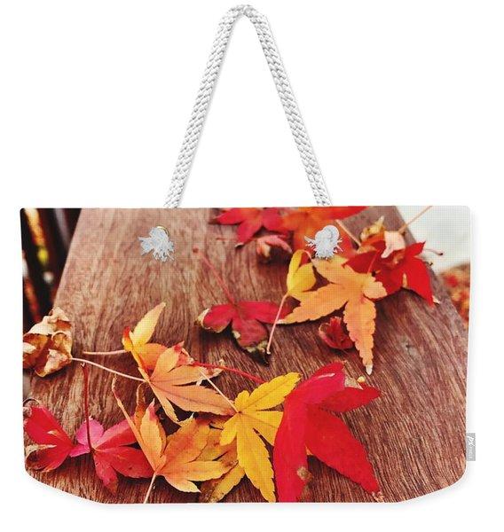 Autumn Gathering  Weekender Tote Bag