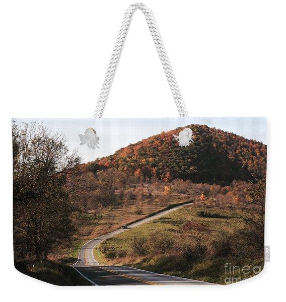 Autumn Hill Near Hancock Maryland Weekender Tote Bag