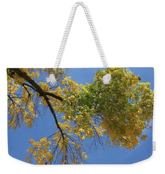 Autumn Hover Weekender Tote Bag