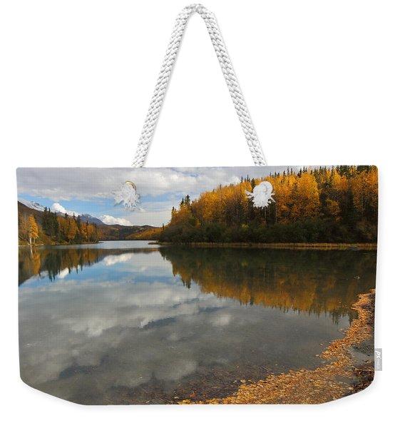 Autumn In Alaska Weekender Tote Bag