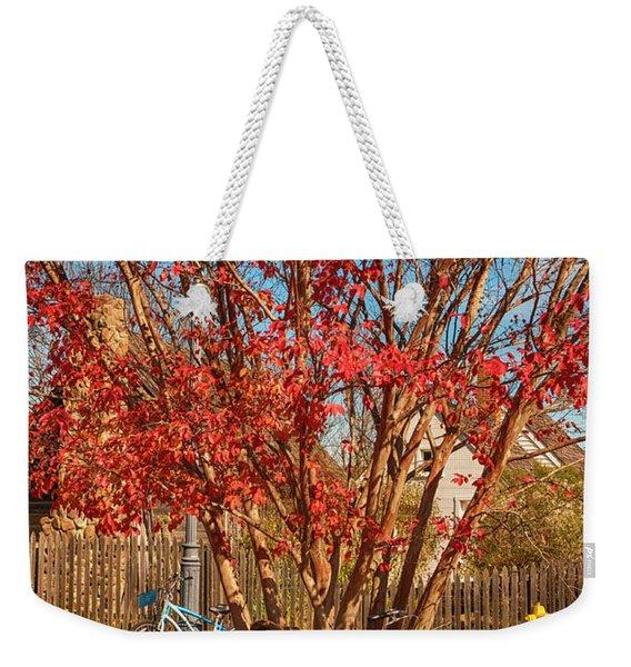 Autumn In Maryland Weekender Tote Bag