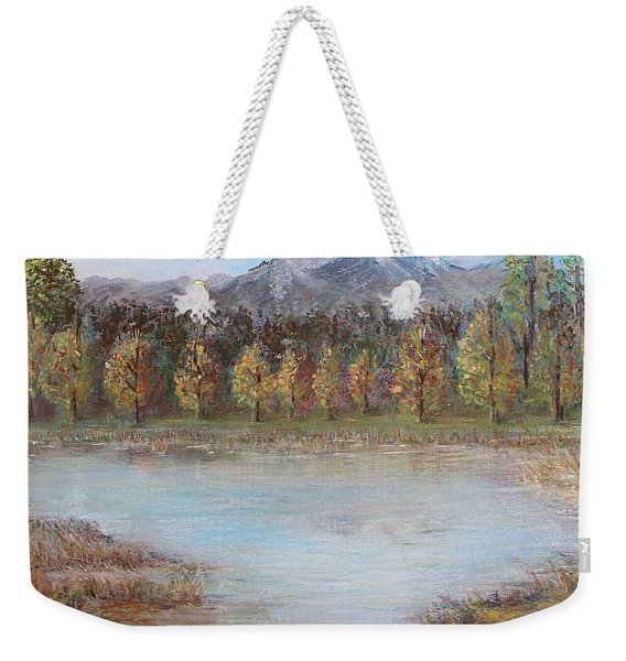 Autumn In Maule Weekender Tote Bag