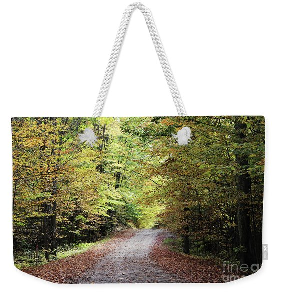 Autumn In Michigan Weekender Tote Bag